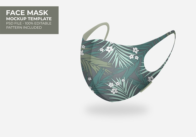 3d mask mock up