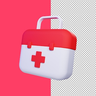 3d 의료 가방 그림