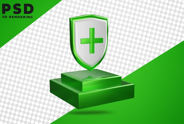 3d медицинская защита здравоохранения щит изолят