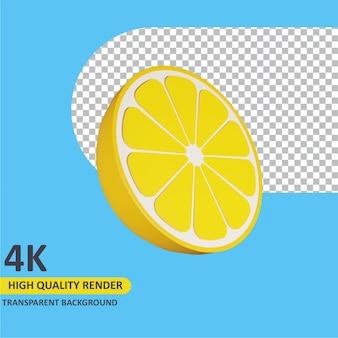 3d 모델 렌더링 오렌지