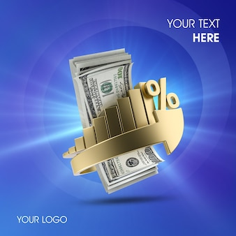 3d money interest psd