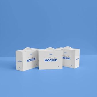 Мокап 3d-монитора