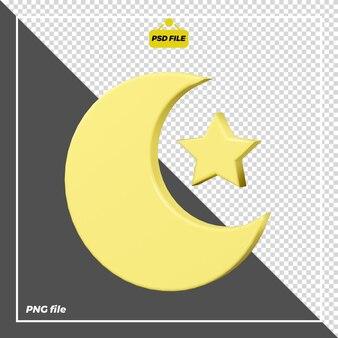 3d дизайн иконок ночь