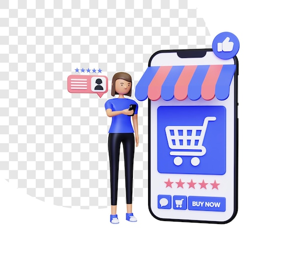 3d online shopping with positive reviews
