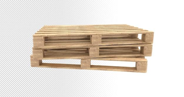 構成テンプレートデザインアルファ背景のスーパーマーケット用の3dパレットウッド