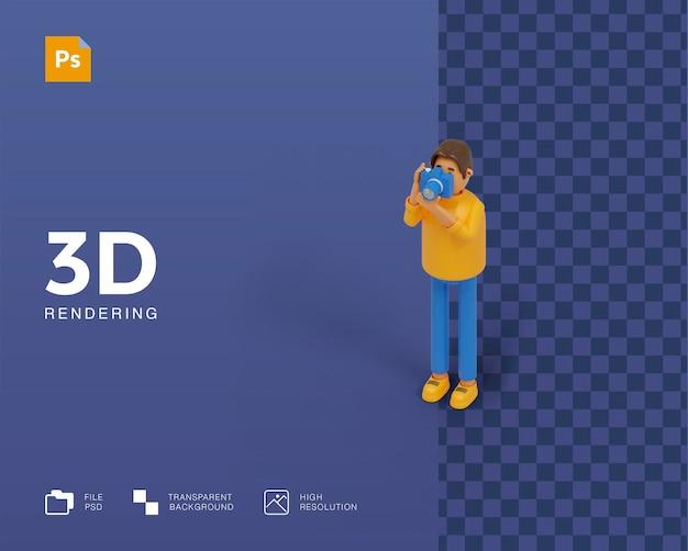 Иллюстрация 3d фотографии