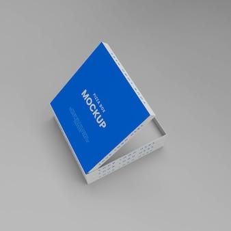3d-макет коробки для пиццы