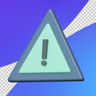3d programming warning sign