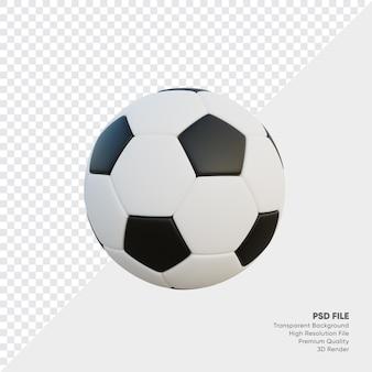 3dリアルなサッカーボール