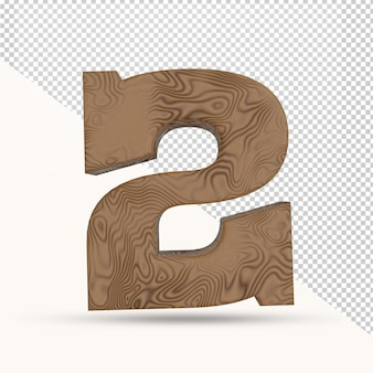 3d визуализация 2 номер деревянной текстуры изолированные