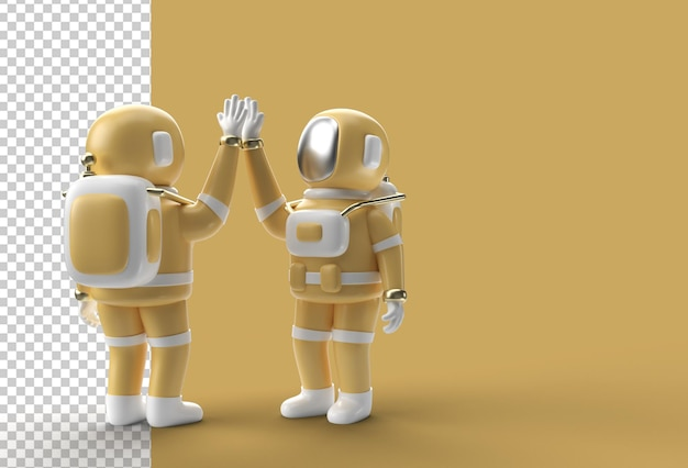 3d визуализация astronaut hifi gesture