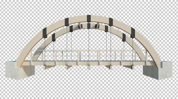 3d визуализация строительной конструкции изолированы