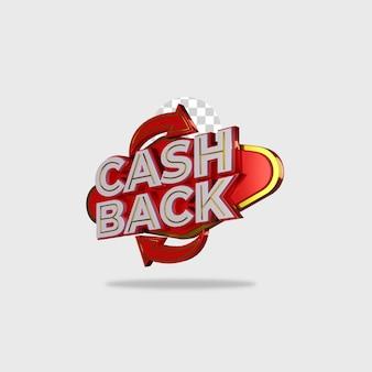 3d визуализация дизайн возврата денег