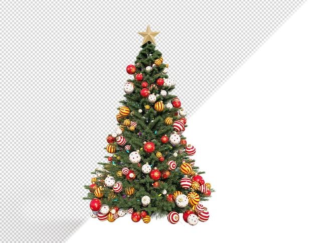 3d визуализация рождественское дерево