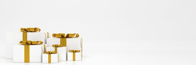 3d 렌더링 giftbox 파스텔 색상 기쁜 성 탄과 새 해 복 많이 받으세요 모형