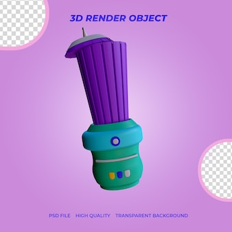 Блендер значок 3d render