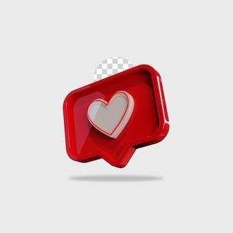 Значок 3d визуализации, как дизайн instagram