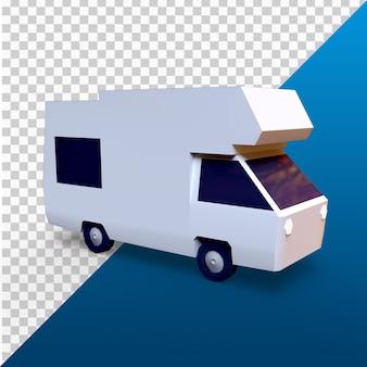 3d визуализация низкополигональная скорая помощь в разрешении 4k