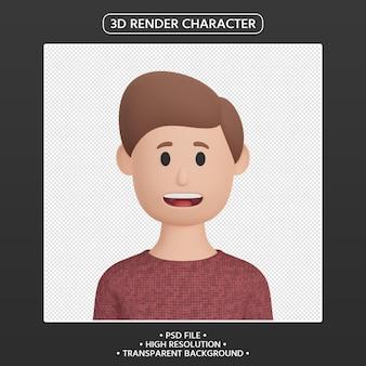3d визуализация человек мультфильм аватар