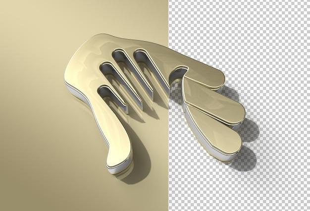 Справочный центр 3d render metal прозрачный файл psd.