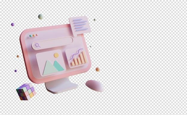 애플리케이션 빌드 및 앱 테스트를 통한 3d 렌더링 모바일 앱 개발