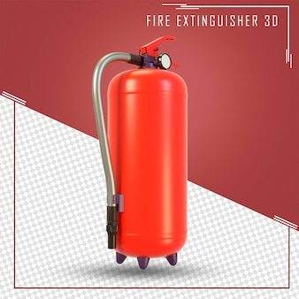 3d визуализация огнетушителей