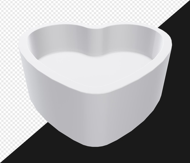 3d визуализация любви к стенду или платформе