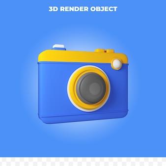 3dレンダリングのシンプルなカメラ
