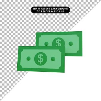 3d 렌더링 간단한 개체 돈