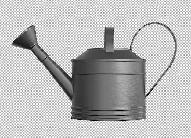 3d render of watering can isolated