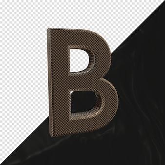 3d визуализации буква b