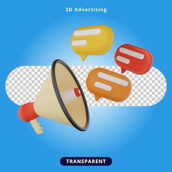 3d rendering advertising illustration