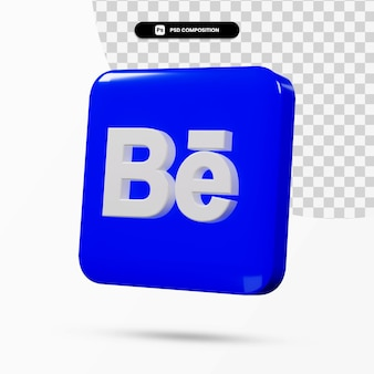 3d рендеринг приложения с логотипом