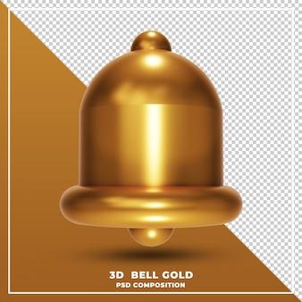 ベルゴールドの3dレンダリング