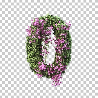 3d rendering of bougainvillea number 0