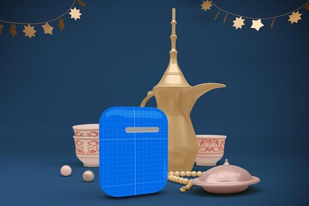 3d rendering of eid pods mockup