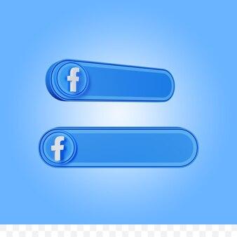 3d rendering facebook social media username