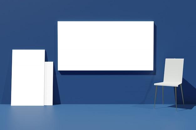 3d-рендеринг макет отображения кадра для создателя сцены