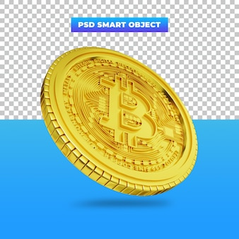 3d визуализация цифровой валюты golden bitcoin