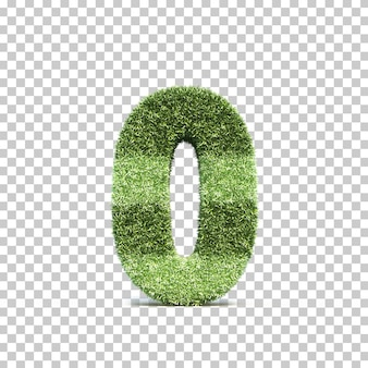 3d rendering of grass playing field number 0 Premium Psd