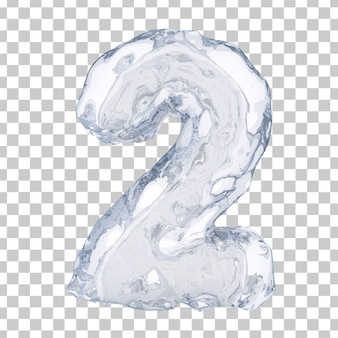 3d rendering of ice number 2