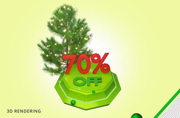 3d рендеринг merry christmas 70 sale premium psd