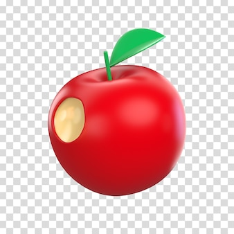 애플의 3d 렌더링