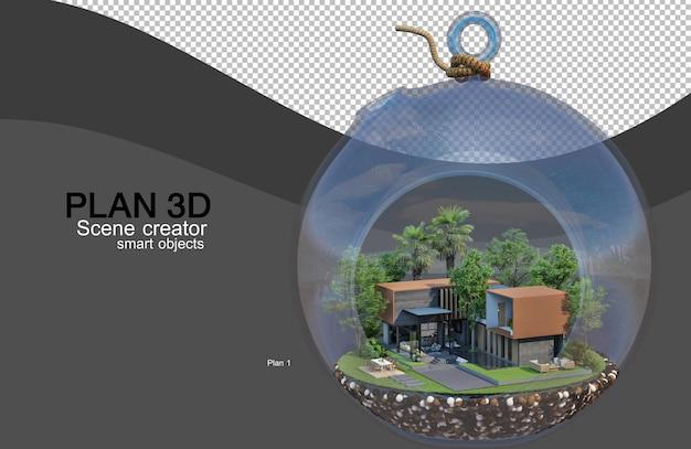 3d рендеринг планировок домов и зданий