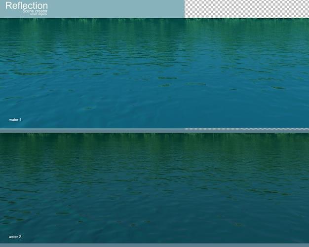 자연 풍경 렌더링의 3d 렌더링