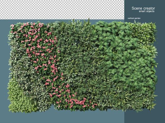 分離された植物柵の3dレンダリング