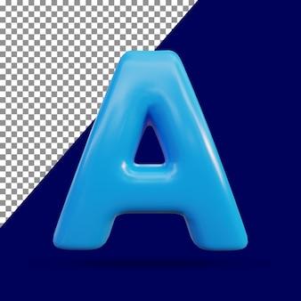 3d-рендеринг блестящего текста с эффектом a