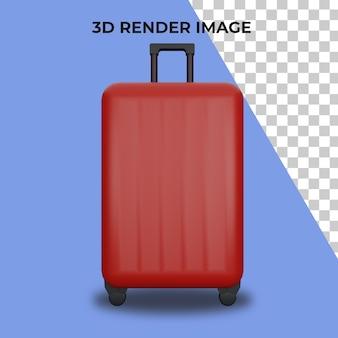가방의 3d 렌더링