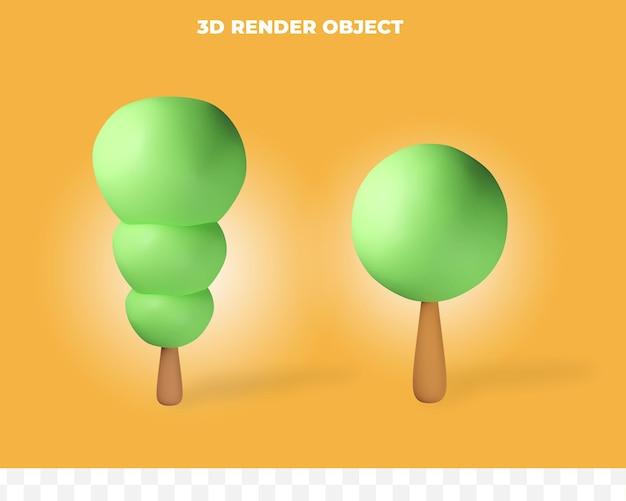 3d-рендеринг дерева