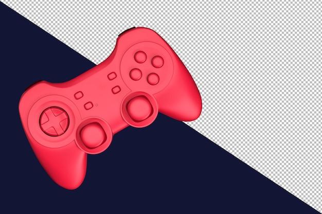 비디오 게임 컨트롤러의 3d 렌더링